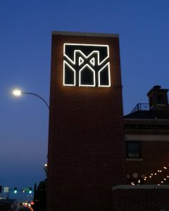 Rourke Art Museum and Gallery, Neon